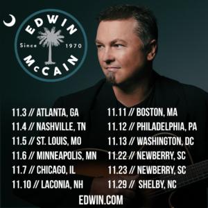 Edwin McCain November Tour 2019